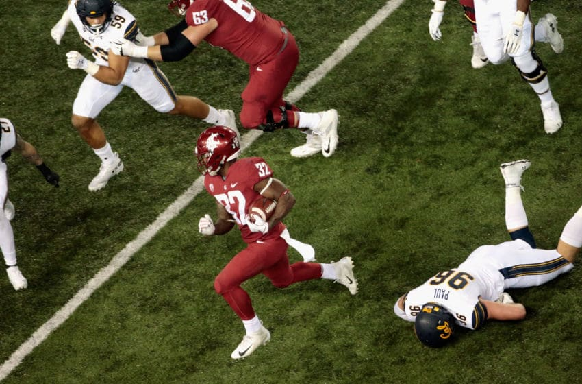 James Williams, Washington State football. (Photo by William Mancebo/Getty Images)