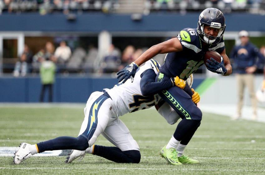 Tyler Lockett, Seattle Seahawks. (Photo by Abbie Parr/Getty Images)