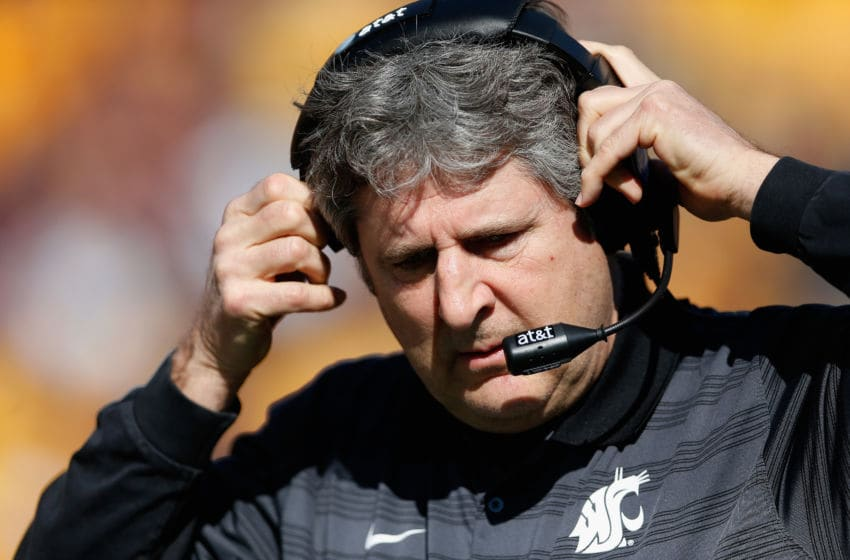 Mike Leach, Washington State. (Photo by Christian Petersen/Getty Images)