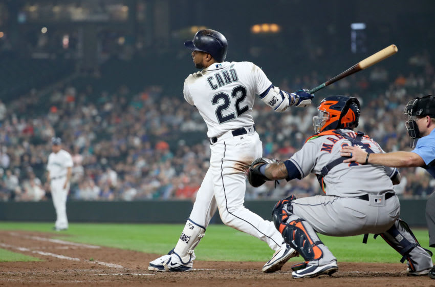 Robinson Cano, Seattle Mariners. (Photo by Abbie Parr/Getty Images)