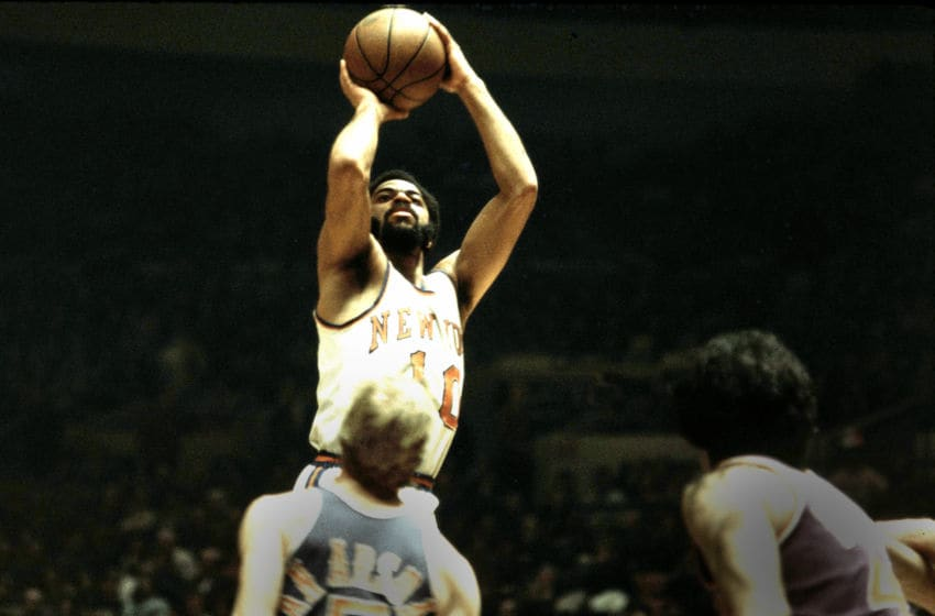 Walt Frazier, New York Knicks, (Photo by Ross Lewis/Getty Images)