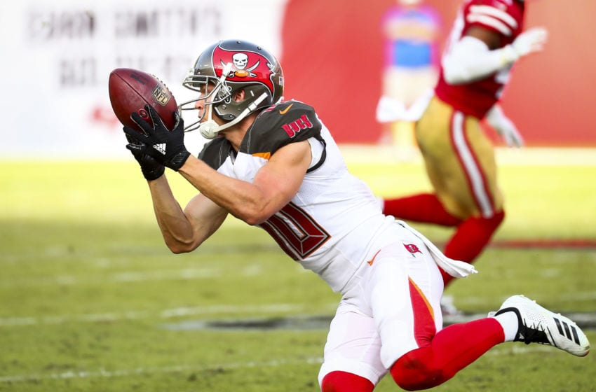 Adam Humphries #10 of the Tampa Bay Buccaneers (Photo by Will Vragovic/Getty Images)