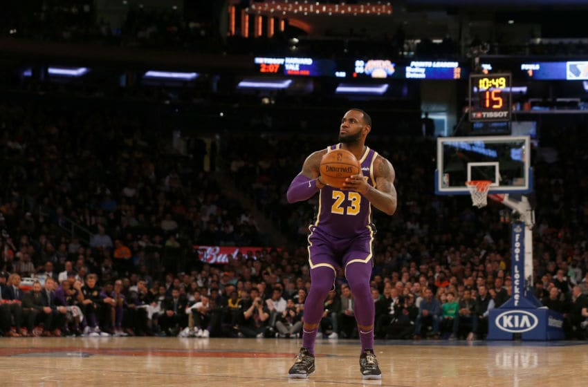 LeBron James, Los Angeles Lakers. (Photo by Jim McIsaac/Getty Images)