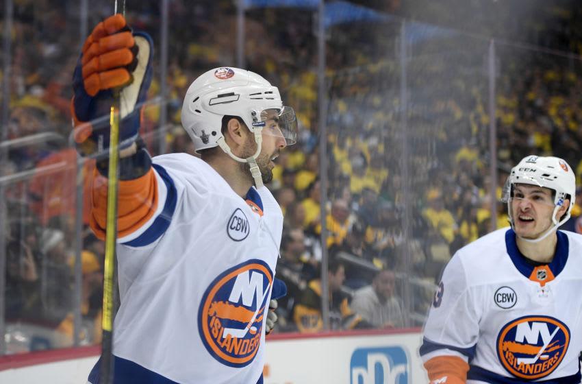 Jordan Eberle, New York Islanders. (Photo by Justin Berl/Getty Images)