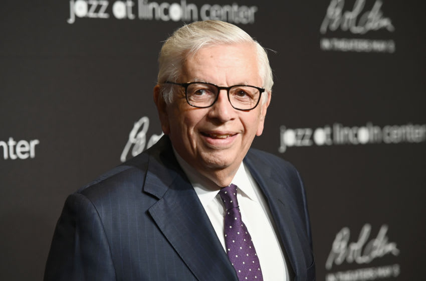 David Stern, New York Knicks (Photo by Noam Galai/Getty Images for Jazz At Lincoln Center)