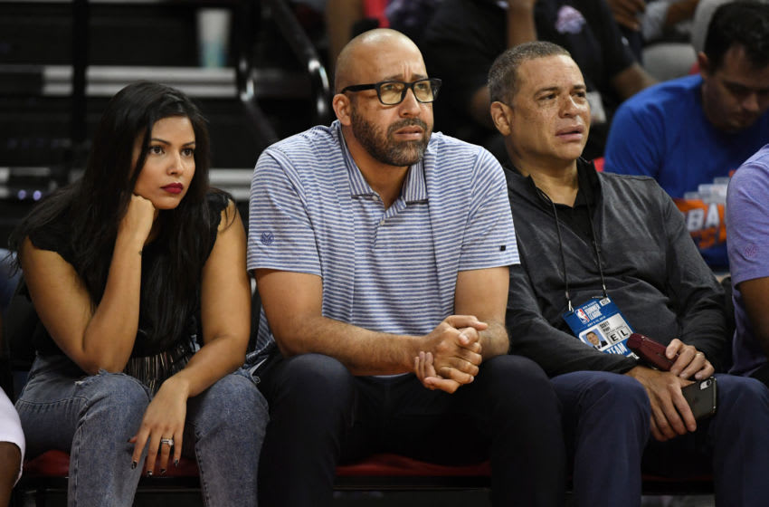 David Fizdale, Scott Perry, New York Knicks (Photo by Ethan Miller/Getty Images)