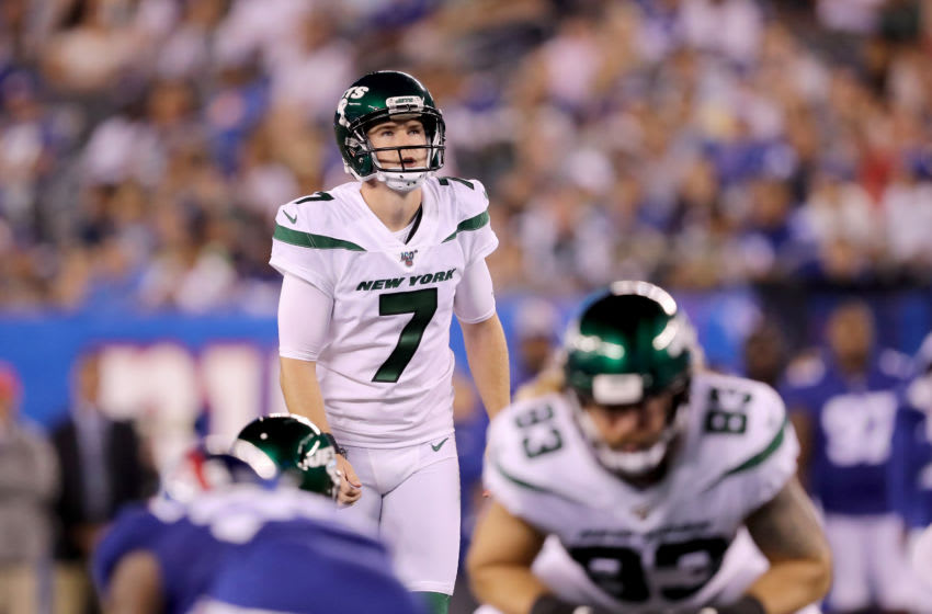 Chandler Catanzaro, New York Jets (Photo by Elsa/Getty Images)