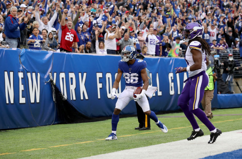 Darius Slayton, New York Giants. (Photo by Al Bello/Getty Images)