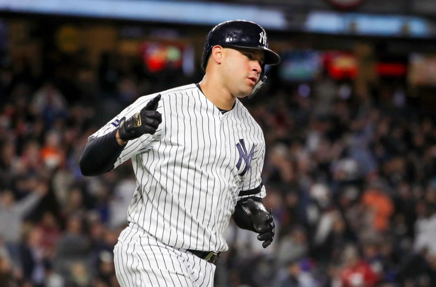 Gary Sanchez, New York Yankees (Photo by Elsa/Getty Images)