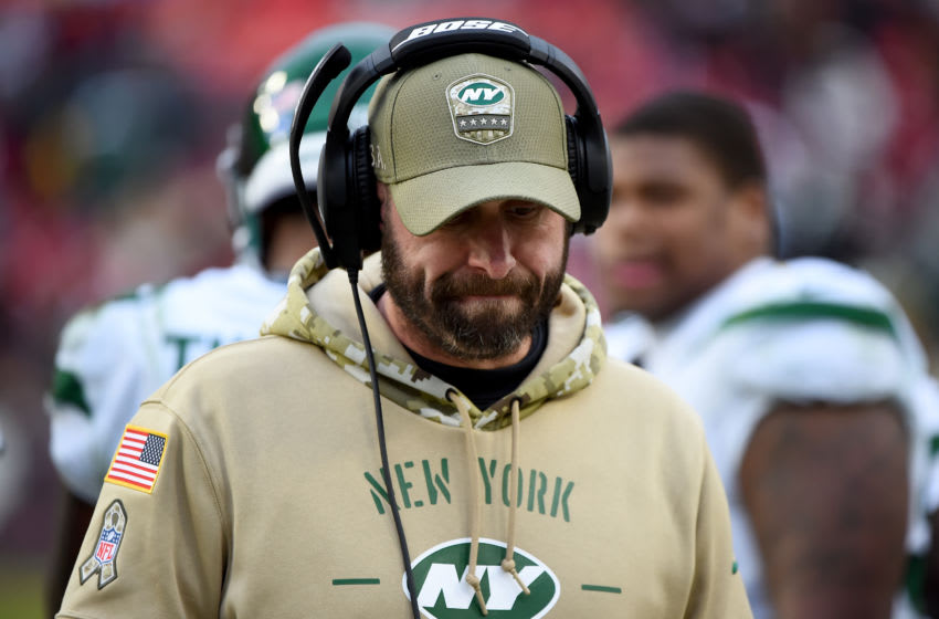 Adam Gase, New York Jets. (Photo by Will Newton/Getty Images)
