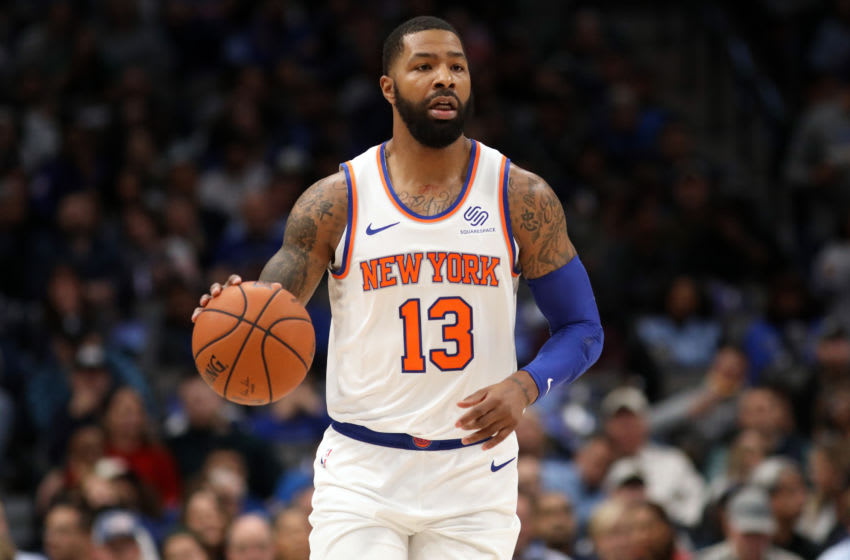 Marcus Morris Sr., New York Knicks. (Photo by Ronald Martinez/Getty Images)