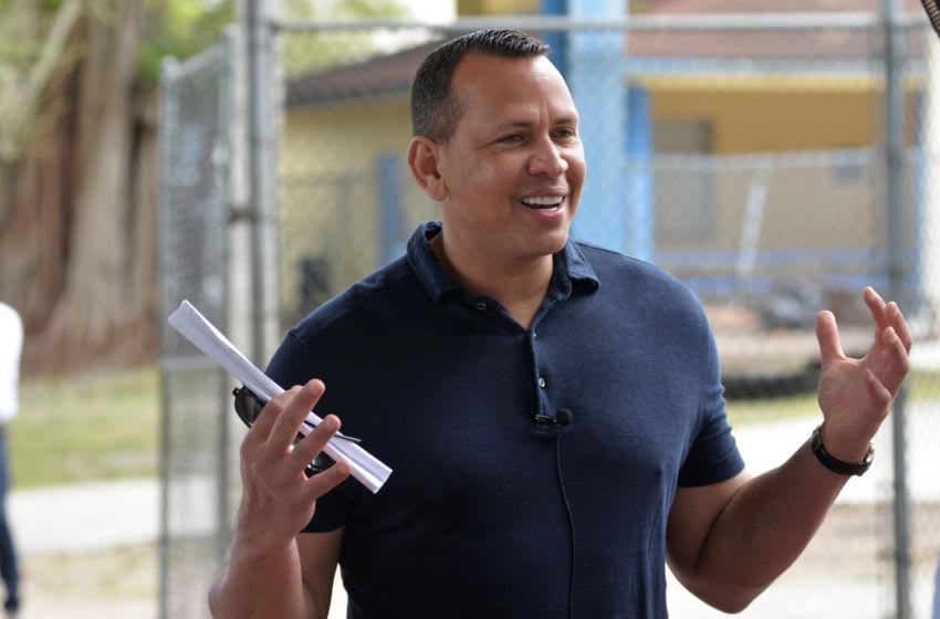 Alex Rodriguez. (Manny Hernandez/Getty Images)