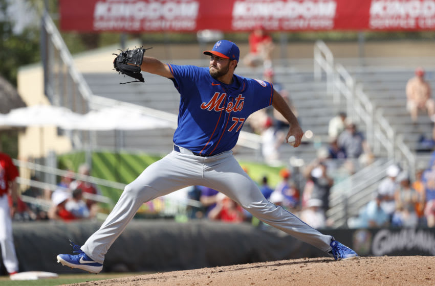 David Peterson, New York Mets. (Photo by Joe Robbins/Getty Images)