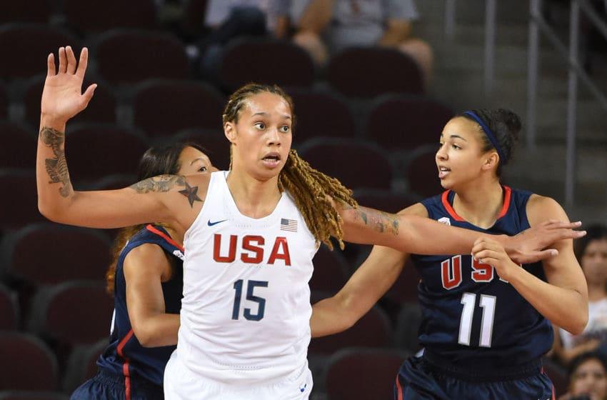 Kiah Stokes, USA Basketball Women's Select team, New York Liberty (Photo by Jayne Kamin-Oncea/Getty Images)