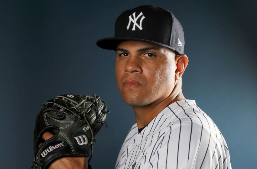 Dellin Betances, New York Yankees, New York Mets (Photo by Elsa/Getty Images)