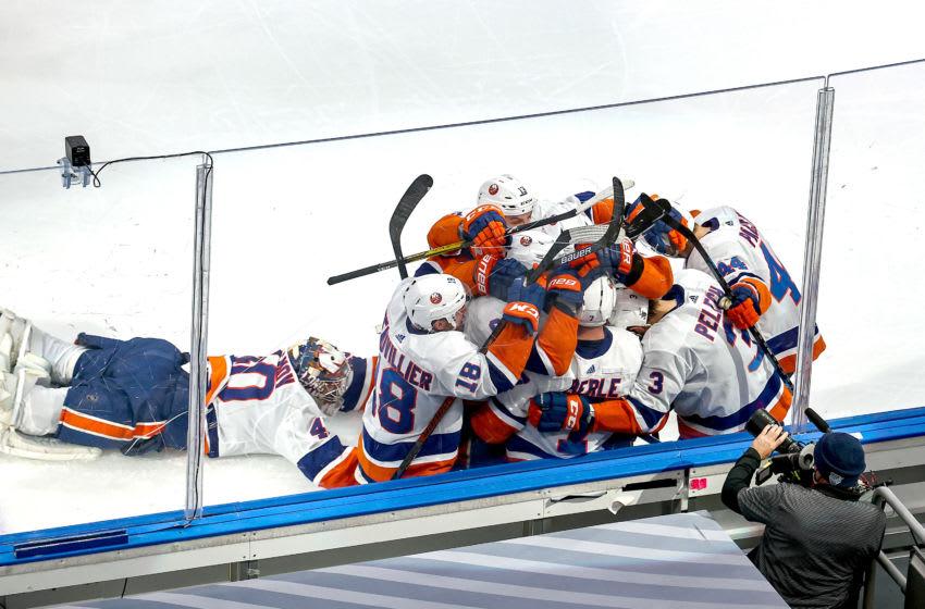 Jordan Eberle, New York Islanders. (Photo by Bruce Bennett/Getty Images)