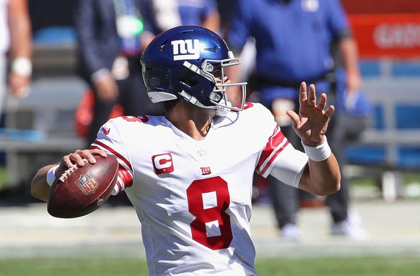 Daniel Jones, New York Giants. (Photo by Jonathan Daniel/Getty Images)