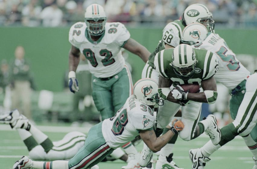 Curtis Martin.(Photo by Al Bello/Getty Images)