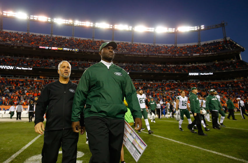 DENVER, CO - DECEMBER 10: Head coach Todd Bowles (Photo by Justin Edmonds/Getty Images)