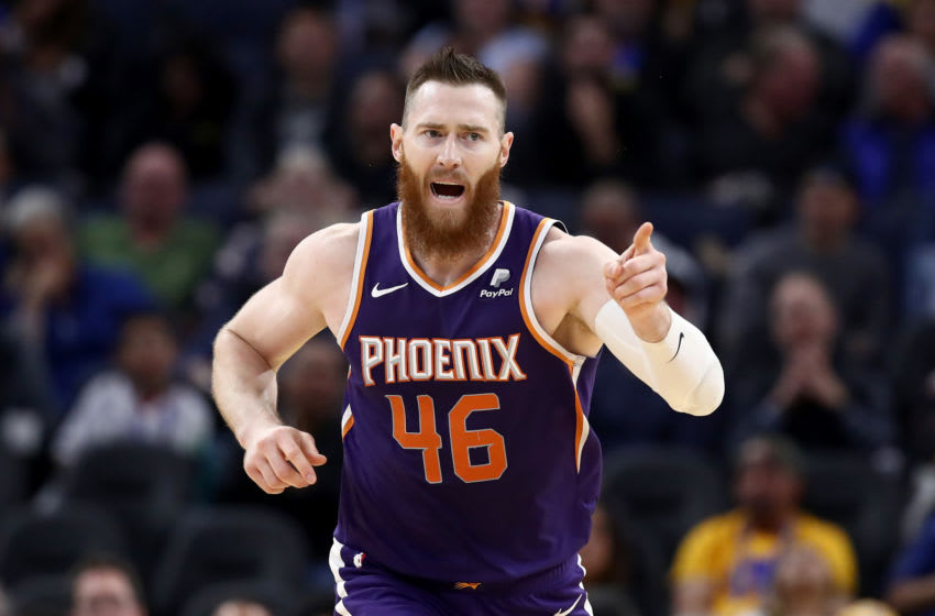 Aron Baynes, Phoenix Suns. (Photo by Ezra Shaw/Getty Images)