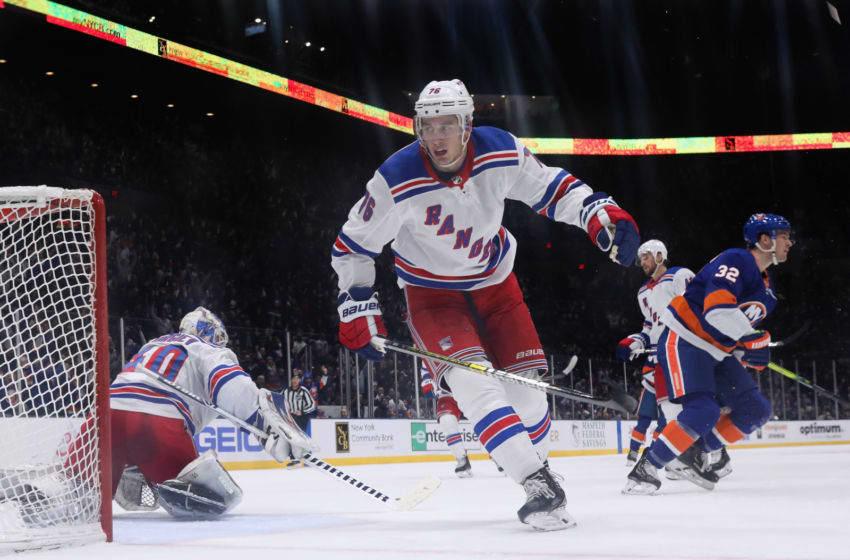 Brady Skjei, New York Rangers. (Photo by Bruce Bennett/Getty Images)