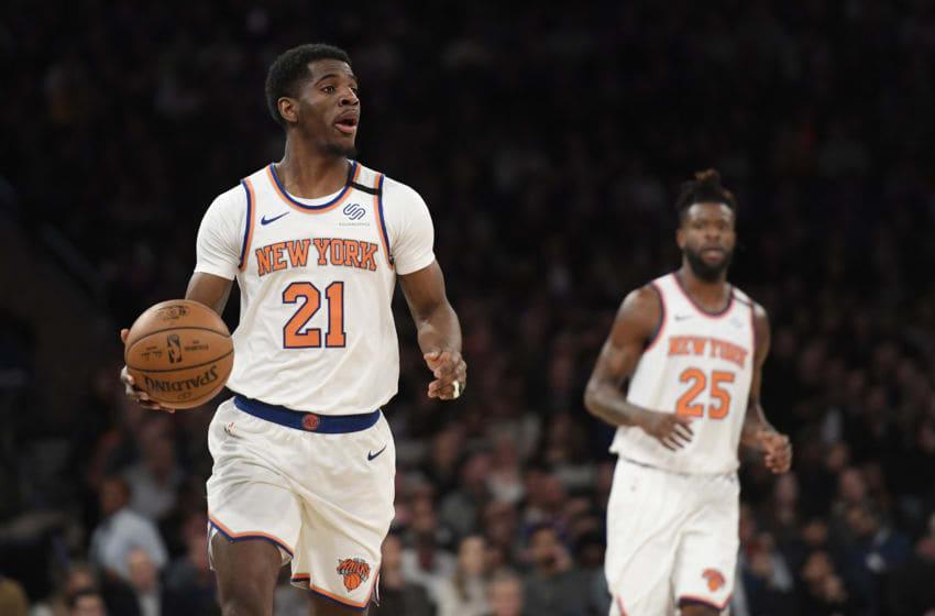 Damyean Dotson, New York Knicks. (Photo by Sarah Stier/Getty Images)