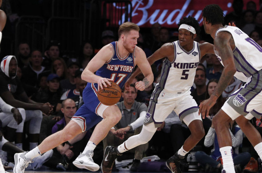 Ignas Brazdeikis, New York Knicks. (Photo by Jim McIsaac/Getty Images)