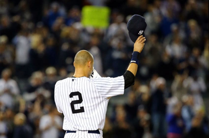 New York Yankees. Derek Jeter (Photo by Al Bello/Getty Images)