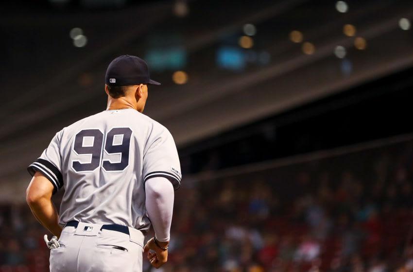 Aaron Judge, New York Yankees. (Photo by Adam Glanzman/Getty Images)