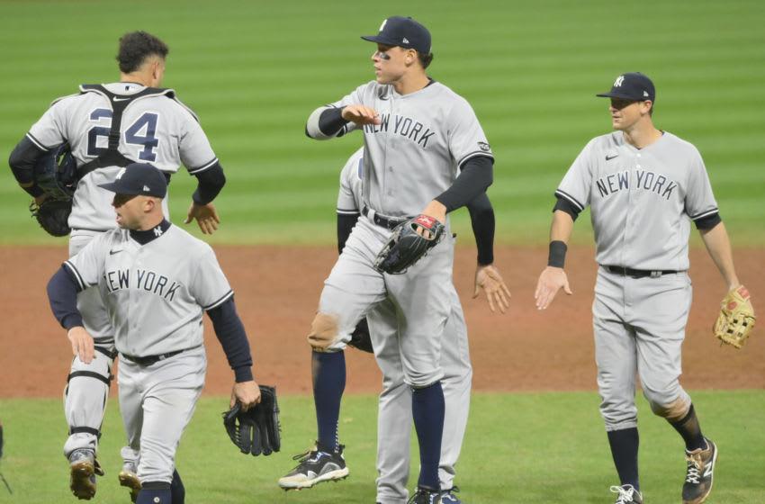 Aaron Judge, Gary Sanchez, New York Yankees. Mandatory Credit: David Richard-USA TODAY Sports