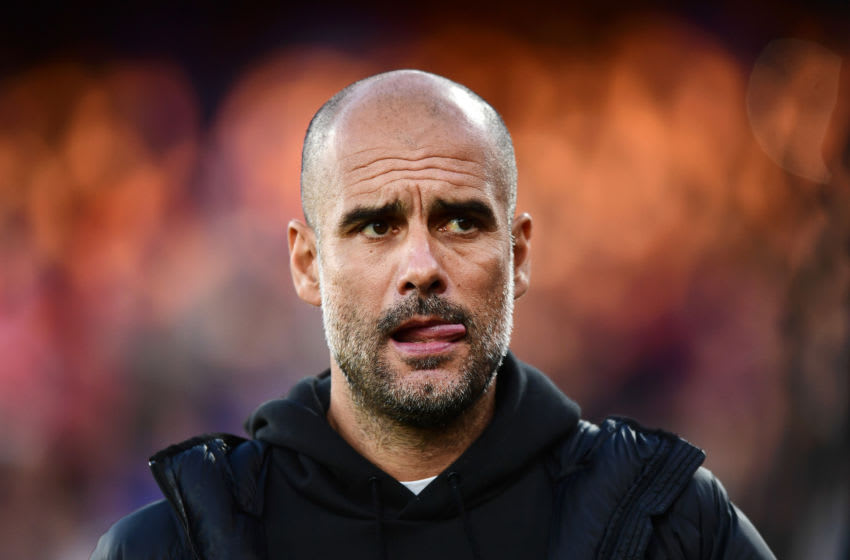 Manchester City manager Pep Guardiola (Photo by Alex Broadway/Getty Images)