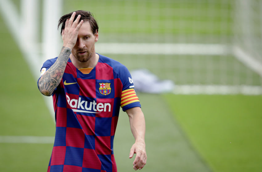Barcelona forward Lionel Messi. (Photo by David S. Bustamante/Soccrates/Getty Images)