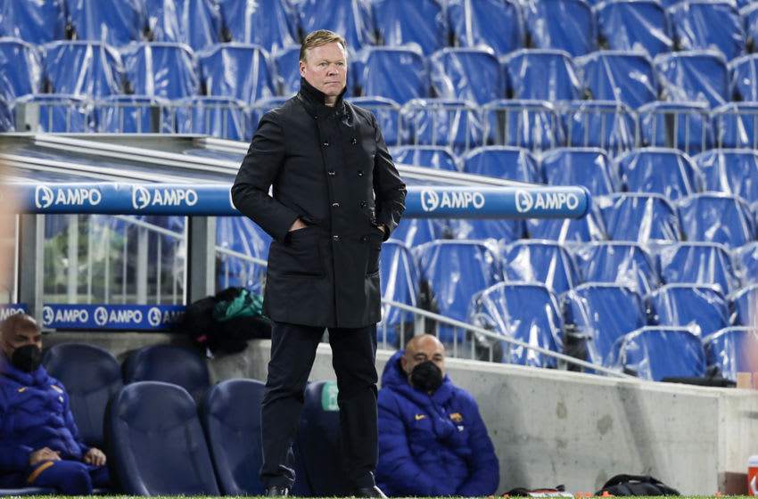 Manager Ronald Koeman of FC Barcelona (Photo by David S. Bustamante/Soccrates/Getty Images)