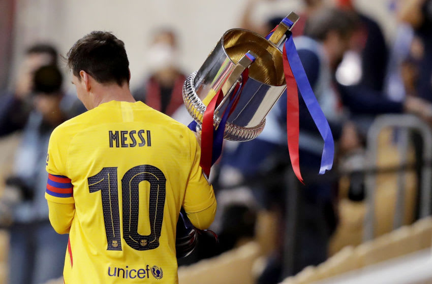 Lionel Messi of FC Barcelona (Photo by David S. Bustamante/Soccrates/Getty Images)