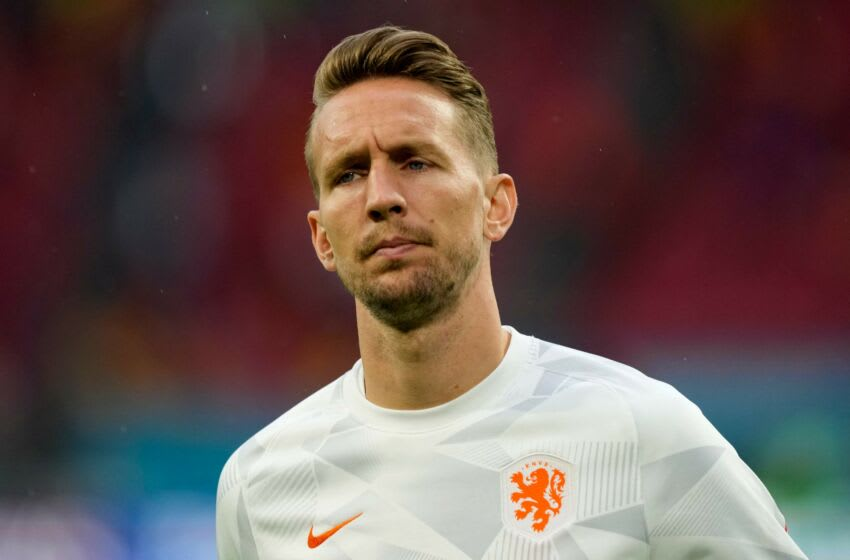 Netherlands forward Luuk de Jong (Photo by Peter Dejong / POOL / AFP) (Photo by PETER DEJONG/POOL/AFP via Getty Images)