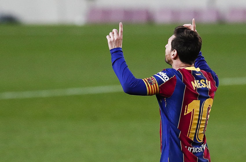 Lionel Messi of FC Barcelona. (Photo by Eric Alonso/Getty Images)