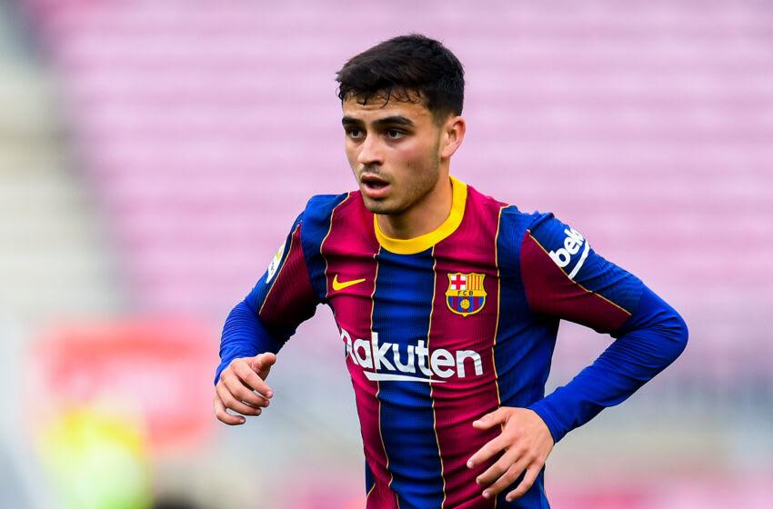 Pedri of FC Barcelona. (Photo by David Ramos/Getty Images)
