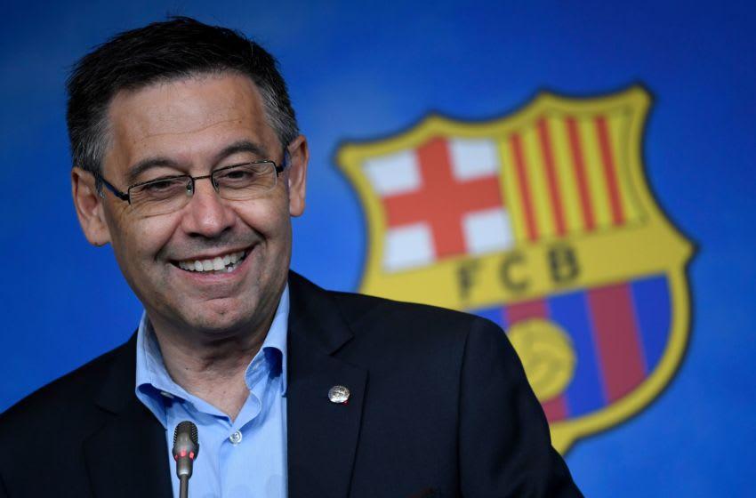 Former Barcelona president Josep Maria Bartomeu. (Photo credit LLUIS GENE/AFP via Getty Images)