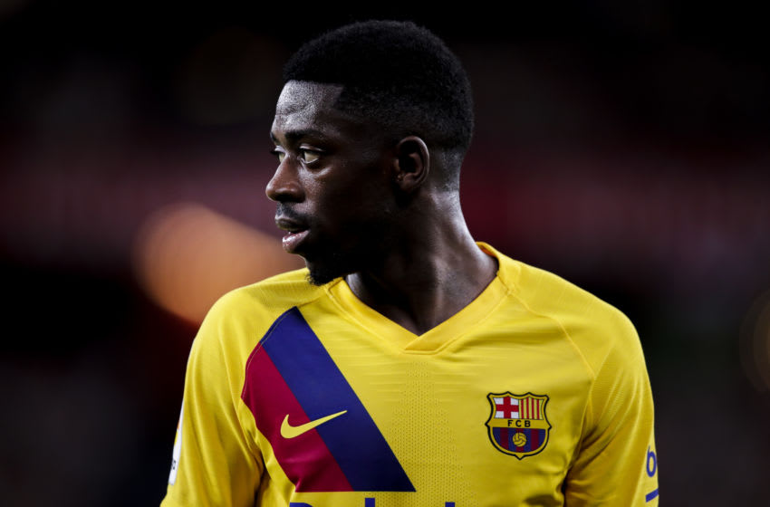 Ousmane Dembele of FC Barcelona (Photo by David S. Bustamante/Soccrates/Getty Images)