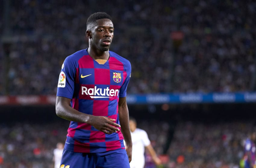 Ousmane Dembele of FC Barcelona (Photo by Quality Sport Images/Getty Images)