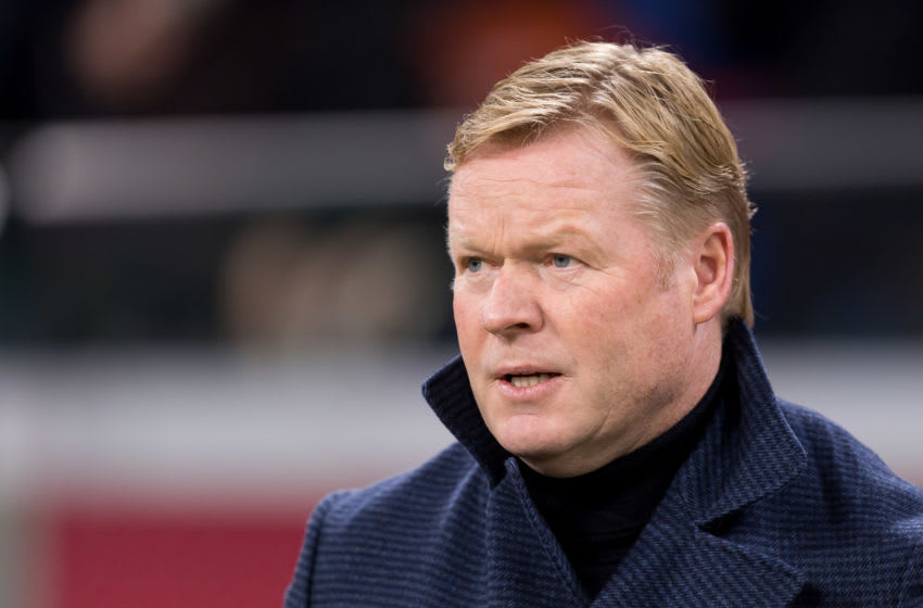 head coach Ronald Koeman of Netherlands (Photo by TF-Images/Getty Images)