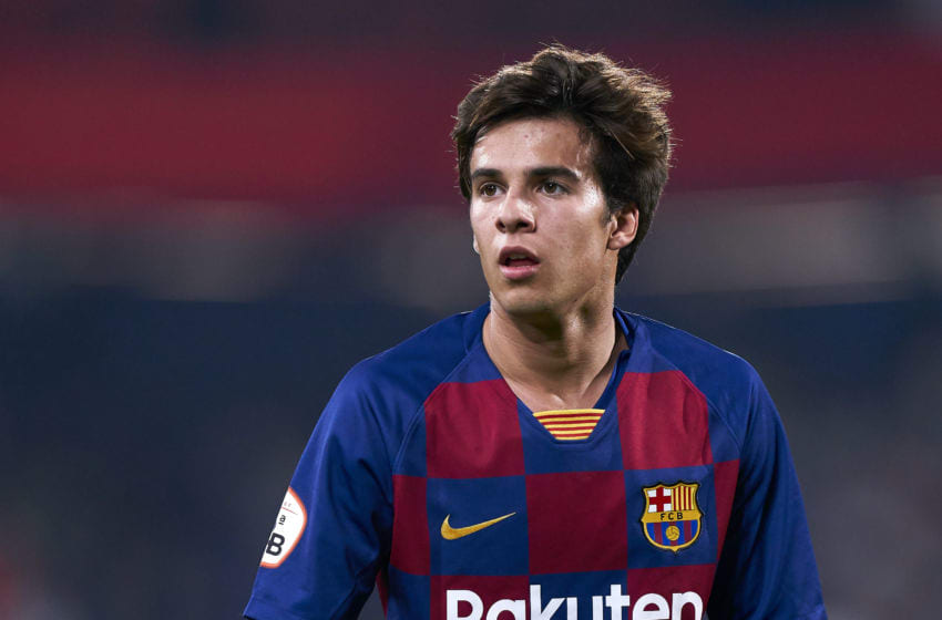 Riqui Puig of FC Barcelona B (Photo by Quality Sport Images/Getty Images)