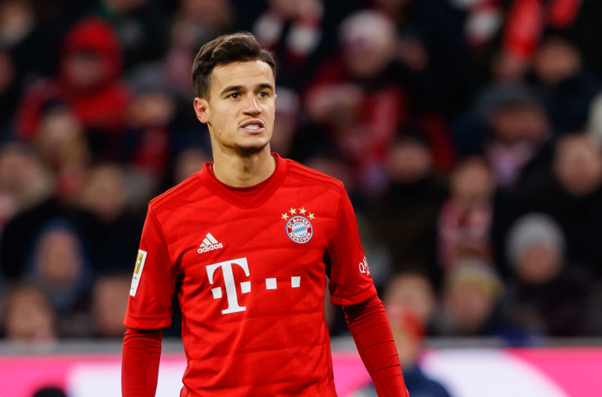 Philippe Coutinho of FC Bayern Munich (Photo by TF-Images/Getty Images)
