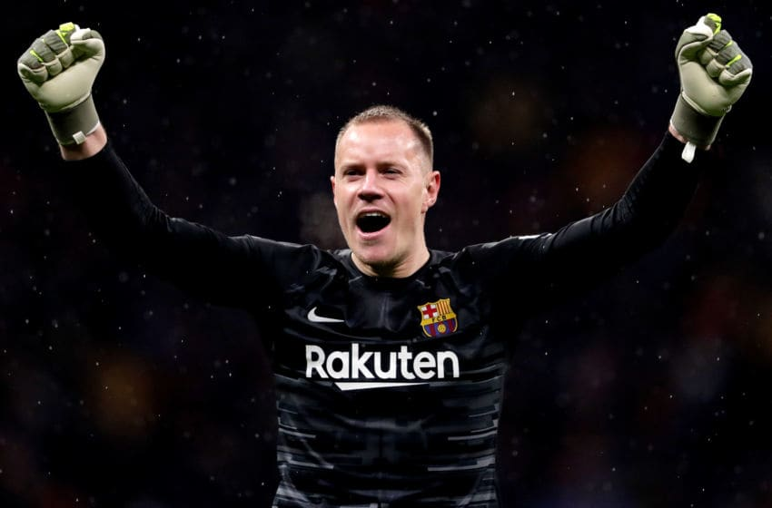Marc Andre ter Stegen of FC Barcelona (Photo by Rico Brouwer/Soccrates/Getty Images)