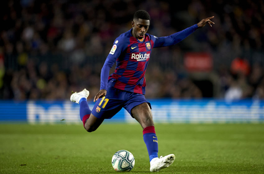 Ousmane Dembele of FC Barcelona, (Photo by Quality Sport Images/Getty Images)
