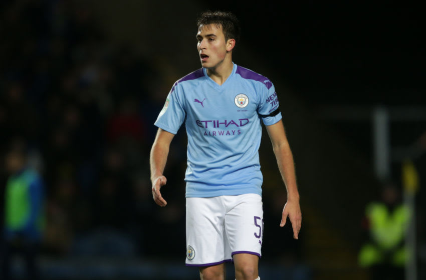 Eric Garcia of Manchester City l(Photo by Robin Jones/Getty Images)
