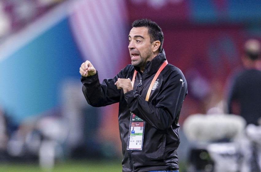 DOHA, QATAR - DECEMBER 17: Al-Sadd Head Coach Xavier Hernandez gestures during the FIFA Club World Cup 5th place match between Al-Sadd Sports Club and Esperance Sportive de Tunis at Khalifa International Stadium on December 17, 2019 in Doha, Qatar. (Photo by Marcio Machado/Eurasia Sport Images/Getty Images)