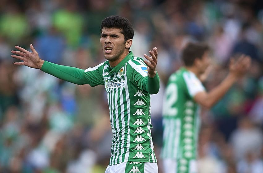 Real Betis, Carles Alena #24 (Photo by Quality Sport Images/Getty Images)