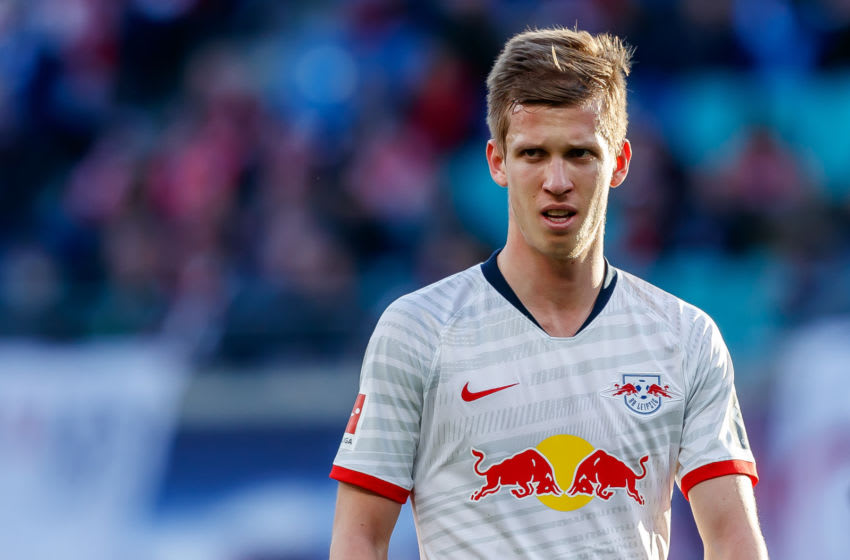 Dani Olmo of RB Leipzig. (Photo by Roland Krivec/DeFodi Images via Getty Images)