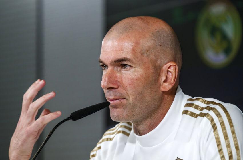 Zinedine Zidane of Real Madrid (Photo by DeFodi Images via Getty Images)